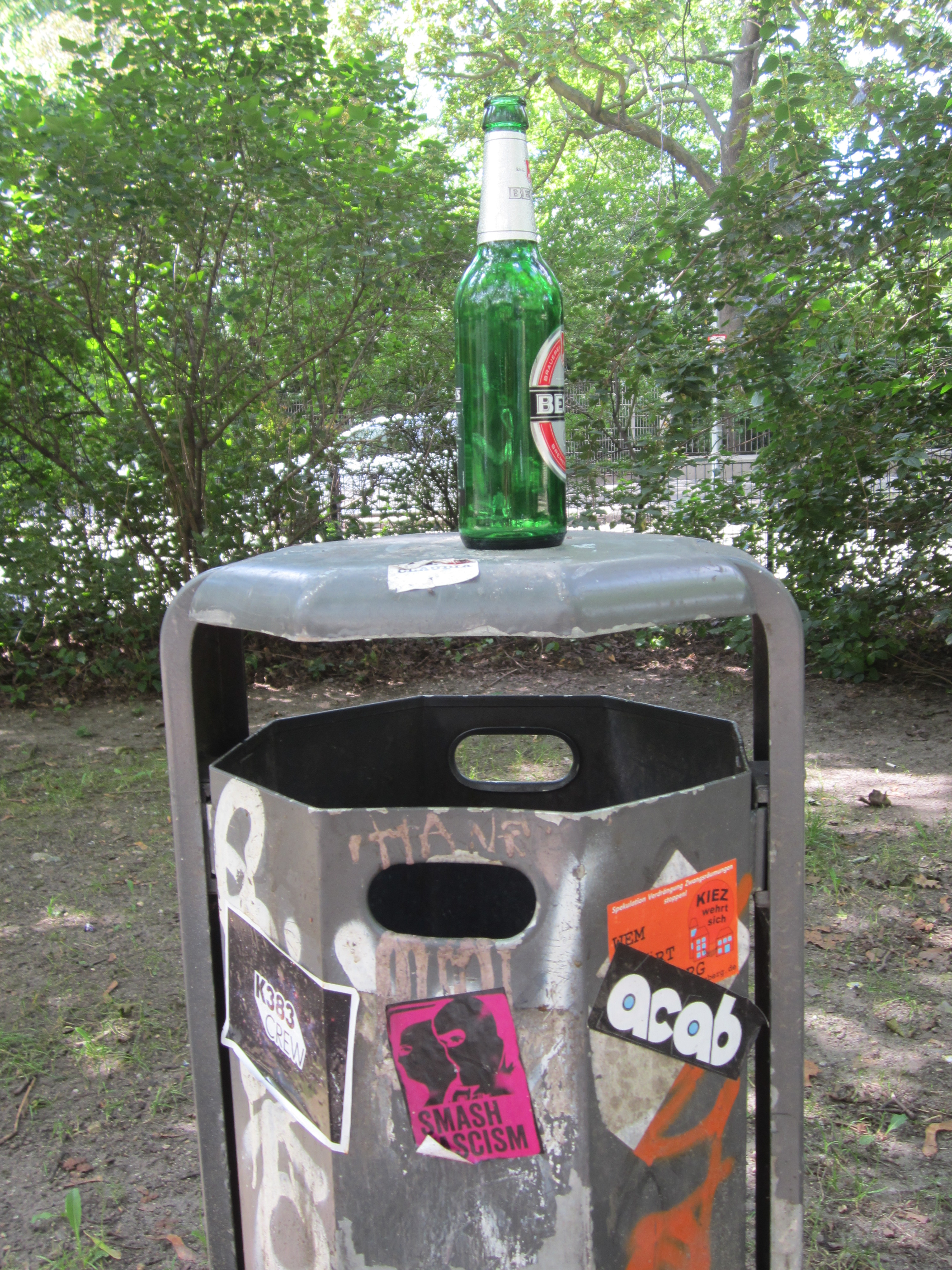 canal bottle