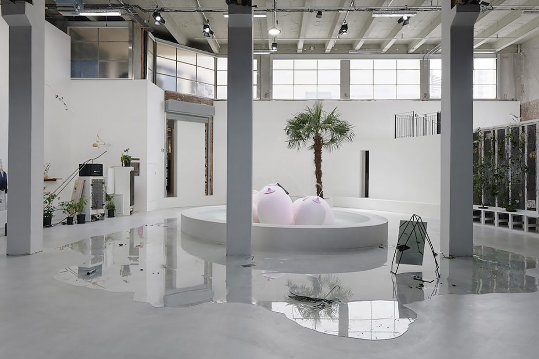 """Exhibition view of Laure Prouvost, """"Ring, Sing and Drink for Trespassing"""", Palais de Tokyo (22.06.2018 – 09.09.2018) Courtesy of the artist and Nathalie Obadia (Paris / Brussels), carlier 